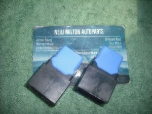 2 GENUINE NISSAN X-TRAIL BLUE RELAYS  NAIS 25230 79944   ACM33221